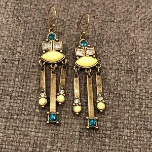 Silpada Neon Fringe Earrings